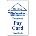 The Phonecard Shop: Finland, Teleste - Telephone Pay Card, 50 units