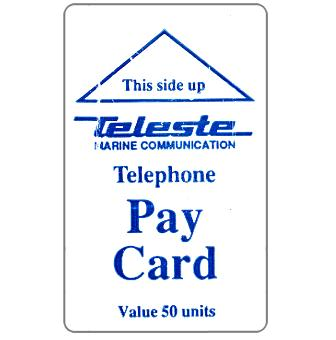 Phonecard for sale: Teleste - Telephone Pay Card, 50 units