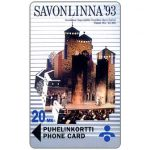 The Phonecard Shop: Savonlinna Telephone Company - Savonlinna-93, 20 mk