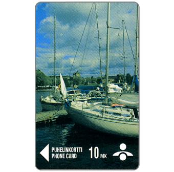 Phonecard for sale: Savonlinna Telephone Company - Boats, 10 mk