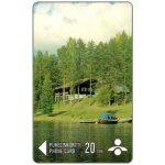 The Phonecard Shop: Savonlinna Telephone Company - Cottage on river, 20 mk
