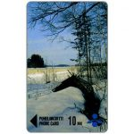 Phonecard for sale: Savonlinna Telephone Company - Winter scene, 10 mk