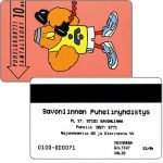 The Phonecard Shop: Savonlinna Telephone Company - Athlete Buzzby, exp. 12/94, 10 mk