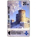 The Phonecard Shop: Savonlinna Telephone Company - S.P. Wishes Merry Christmas, 20 mk