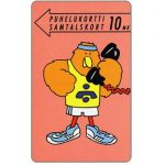 The Phonecard Shop: Turku - Athlete Buzzby, 10 mk