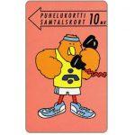 The Phonecard Shop: Finland, Turku - Athlete Buzzby, 10 mk