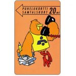 The Phonecard Shop: Turku - Student Buzzby, 20 mk