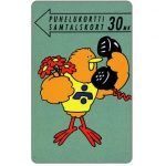 The Phonecard Shop: Finland, Turku - Buzzby and flowers, 30 mk