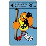 The Phonecard Shop: Finland, Turku - Skier Buzzby, 20 mk