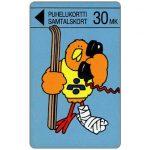 The Phonecard Shop: Finland, Turku - Skier Buzzby, 20 mk