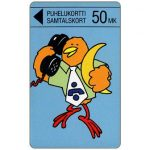 The Phonecard Shop: Turku - Buzzby and Moon, 50 mk
