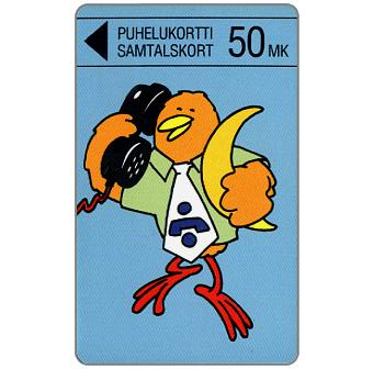 Phonecard for sale: Turku - Buzzby and Moon, 50 mk