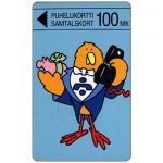 The Phonecard Shop: Turku - Buzzby and Piggy Bank, 100 mk