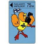 The Phonecard Shop: Turku - Buzzby and Flag, 75 mk
