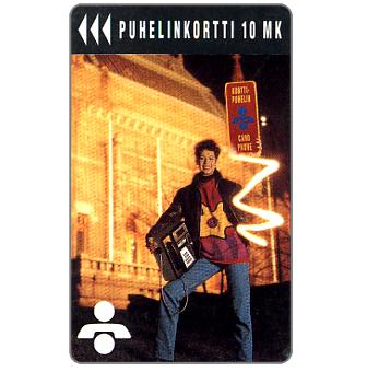Phonecard for sale: Turku - Turku Art Museum, 10 mk