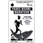 The Phonecard Shop: Finland, Turku - Paavo Nurmi Marathon, 10 mk