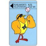 The Phonecard Shop: Finland, Turku - Body-builder Buzzby, 10 mk