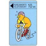 The Phonecard Shop: Finland, Turku - Biking Buzzby, 10 mk