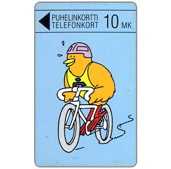 Phonecard for sale: Turku - Biking Buzzby, 10 mk