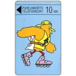 The Phonecard Shop: Finland, Turku - Buzzby on roller skates, 10 mk