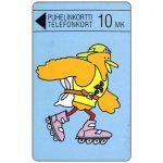 The Phonecard Shop: Finland, Turku - Buzzby on roller skates, 10 mk