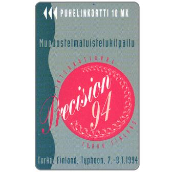 Phonecard for sale: Turku - Precision 94, 10 mk