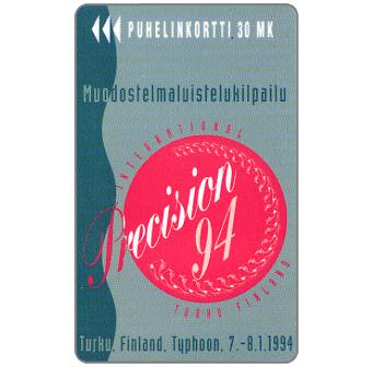 Phonecard for sale: Turku – Precision 94, 30 mk