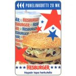 The Phonecard Shop: Finland, Turku - Hesburger, 20 mk