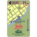 The Phonecard Shop: Turku - Arctia Hotels, 20 mk