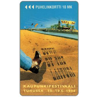 Phonecard for sale: Turku - Down by the Laituri, 20 mk