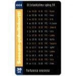 The Phonecard Shop: Finland, Turku - Hockey match program Autumn 1994, 30mk