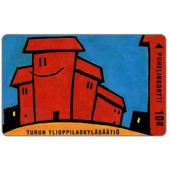 Phonecard for sale: Turku - TYS Symppistalo, 10 mk