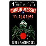 The Phonecard Shop: Finland, Turku - Turku Fair 1995, 10 mk