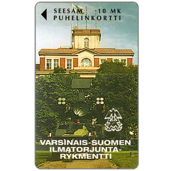 Phonecard for sale: Turku - V-S Ilmatorjuntarykmentti, 10 mk