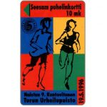 The Phonecard Shop: Finland, Turku - Running, 10 mk