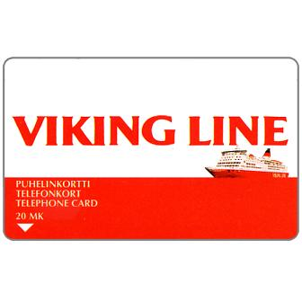 Phonecard for sale: Turku - Viking Line, m/s Rosella, 20 mk