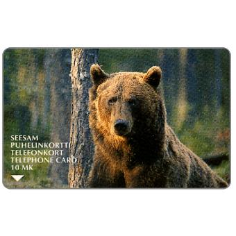 Phonecard for sale: Turku - Bear, 10 mk