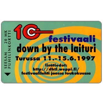 Phonecard for sale: Turku - Down by the Laituri 97, 20 mk
