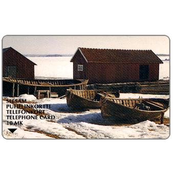 Phonecard for sale: Turku - Landscapes 1, 10 mk
