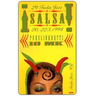 Phonecard for sale: Turku - Salsa, 10 mk