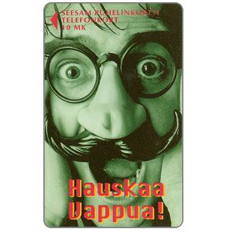 Phonecard for sale: Turku - Masked man, 10 mk