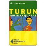 The Phonecard Shop: Finland, Turku - Turun festival, 10 mk