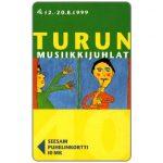 The Phonecard Shop: Finland, Turku - Turun festival, 10 mk