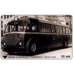 The Phonecard Shop: Finland, Turku - Old bus, 10 mk