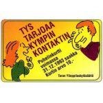 The Phonecard Shop: Finland, Turku - Student Village Foundation, 10 mk