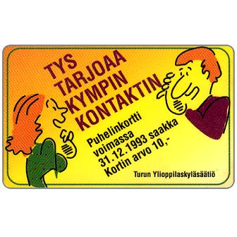 Phonecard for sale: Turku - Student Village Foundation, 10 mk