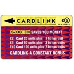 Phonecard for sale: Cardlink - Arrowhead design, £5