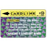 Phonecard for sale: Cardlink - Jigsaw design, £10