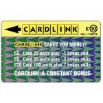 Phonecard for sale: Cardlink - Arrowhead design, £10