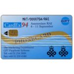 The Phonecard Shop: GPT CardEx 94 promotional card, 1000 units